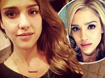 No more blonde ambition! Jessica Alba goes back to brunette 24 hours after showing off new lighter hairdo