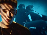 If Kanye can do it, so can I! Justin Bieber makes out with scantily-clad woman on a motorbike and gets his ear licked in racy All That Matters teaser