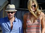 New romance? Ryan Seacrest with model and personal trainer Shayna Terese Taylor in Uruguay over the weekend