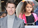 Tom Cruise and Suri spend Thanksgiving apart, as Katie jets their daughter to Holmes family celebration in Ohio