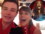 'We LOVE you!': Glee stars Chris Colfer, Lea Michele and Naya Rivera send video message to DWTS winner Amber Riley