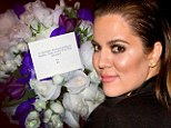 Fun and flowers: Khloe Kardashian boasts of having an 'epic' time as she enters third week without Lamar Odom