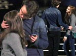 Pucker up! Chloe Moretz, 16, gets kiss from her hot co-star while filming new love story, but it's not her first