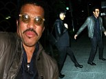 Three times a lady for Lionel Richie? Twice divorced singer enjoys romantic dinner with mystery girlfriend