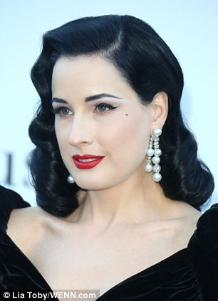 Dita Von Tease and Kylie Minogue and were all seen wearing Chopard pieces this year