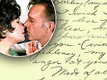 'I wish I could tell you of my pure animal pleasure of you': Elizabeth Taylor's steamy letter to Richard Burton goes up for auction
