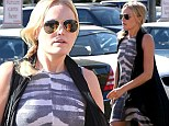 Malin Akerman shops for Thanksgiving