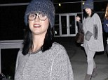Katy Perry steps out in Hollywood on Wednesday evening