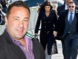 Busted again: Joe Giudice, pictured in September in New York City, was given two tickets on Tuesday in New Jersey after being pulled over in his Maserati