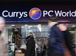 Upbeat: The Currys-to-PC World group has predicted it will sell 1million tablets this yuletide