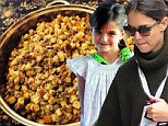 'I'm stuffed!' Katie Holmes shares snaps of tasty Thanksgiving feast as Suri spends the holidays without Tom Cruise