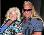 No charges: Beth Chapman, shown in September with husband Duane 'Dog' Chapman in West Hollywood, California, will not face charges after calling a girl names over the summer in Colorado