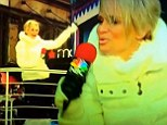 Kristin Chenoweth misses her cue and starts lip-syncing too late during performance at Macy's Thanksgiving parade