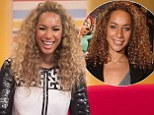 Leona Lewis appears on ITV1 show Daybreak on Friday morning