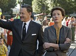 The odd couple: Tom Hanks stars as Walt Disney while Emma Thompson plays Mary Poppins author P.L. Travers in Disney's Saving Mr Banks