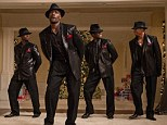 Sharp: Morris Chestnut, Taye Diggs, Terrence Howard and Harold Perrineau in The Best Man Holiday