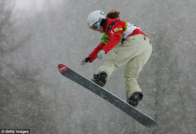 Trailblazer: Gillings competed in the first ever women's snowboard-cross at the 2006 Winter Olympics