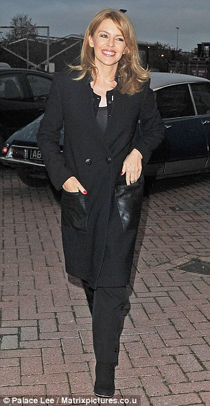Spinning Around: The popular songstress was seen looking happy and relaxed, just days after it was announced she was going to be joining The Voice UK