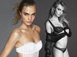 Less is more! In-demand model Cara Delevingne shows she can do sexy as she posts a smouldering underwear shot