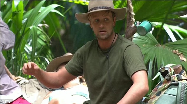 Fighting talk: Kian wasn't having any of it, however, and told Matthew he was being ridiculous