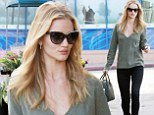 That's cutting it fine! Flawless Rosie Huntington-Whiteley hits the grocery store for a very last minute Thanksgiving shopping trip