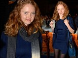 She's got the winter blues: Lily Cole parties in mini dress at Grey Goose pop-up launch party