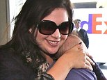 Precious cargo: Lady Antebellum singer Hillary Scott at LAX with daughter Eisele Kaye on Wednesday