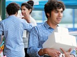 Big Bang Theory's Kunal Nayyar puts on an affectionate display as he grocery shops with beauty queen wife Neha Kapur