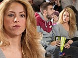 Shakira and Gerard Pique bring a touch of glamour to Spanish basketball game