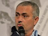 Under pressure? Chelsea manager Jose Mourinho will be expected to lead his side to the Premier League