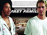 'You will forever hold a place in all of our hearts': Fast And Furious actor Ludacris leads the way as stars pay tribute to Paul Walker