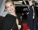 US actress Sharon Stone arrives for her tribute ceremony at the Marrakech International Film Festival