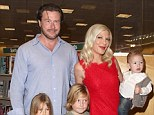 Luxury break: Tori Spelling and her family spent Thanksgiving in a luxury hotel in California's Dana Point despite her claims that she's skint