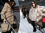From private jet to horse-drawn carriage: Tamara Ecclestone likes to travel in style