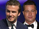 Forget Oscar, Becks wants you! David Beckham reveals he thinks Brad Pitt should play him in a movie about his life