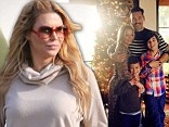 Brandi Glanville spent Thanksgiving alone while her sons were with their father Eddie Cibrian and his new wife LeAnn Rimes.