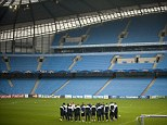 Time to expand? Manchester City's Etihad Stadium currently has a capacity of around 48,000