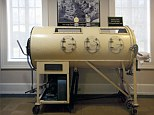 Martha Ann Lillard, 65, has lived inside an iron lung like this one since she was five-years-old