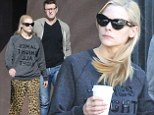 Jaime King and husband Kyle Newman pop out for coffee