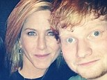 Happy Thanksgiving! Ed Sheeran celebrated the holiday with Jennifer Aniston, with the actress's manager Aleen Keshishian posting a snapshot of the trio on Instagram