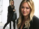 Glamorous Hilary Duff hits the gym in full make up to work off the Thanksgiving feast