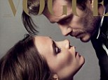 Cover stars: David and Victoria Beckham feature on the front cover of Paris Vogue