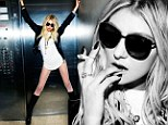 Half-dressed Taylor Momsen, 20, gets reckless as she poses for a raunchy photo shoot in just a white shirt and lace-up boots