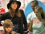 'He was a lovely person': A solemn Jessica Alba stocks up on gift wrap with daughter Honor following tribute tweet to Paul Walker