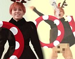 Miley Cyrus in teaser for the 2013 LOVE Magazine Advent Calendar