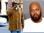 Death Row Records founder Suge Knight is pulled over at gunpoint by Los Angeles police in a case of 'mistaken identity'