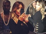 Kim Kardashian forgoes her underwear to slip into daring cut-out dress... then poses for selfie in a bathroom with Kanye West