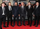 The Class of 92: (From left to right) Paul Scholes, Phil Neville, Ryan Giggs, Nicky Butt, David Beckham and Gary Neville attend the film's world premiere in Leicester Square, London