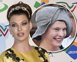 Linda Evangelista at 'The Children for Peace onus' event at the Spazio Novecento in Rome