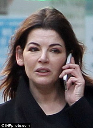 Allegations: Nigella Lawson, 53, is set to give evidence against her two former personal assistants later in the trial